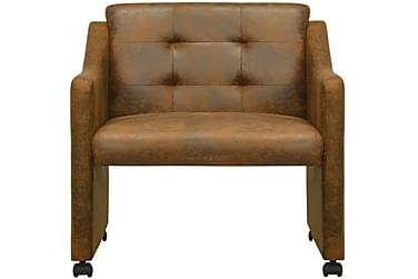Spisebordsstole 6 Stk. Brun 59X57,5X86,5 Cm