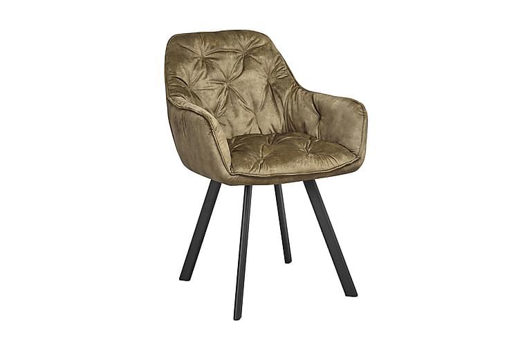 Telningberget Spisebordsstol 2stk - Grøn/Sort - Møbler - Stole - Spisebordsstole & køkkenstole