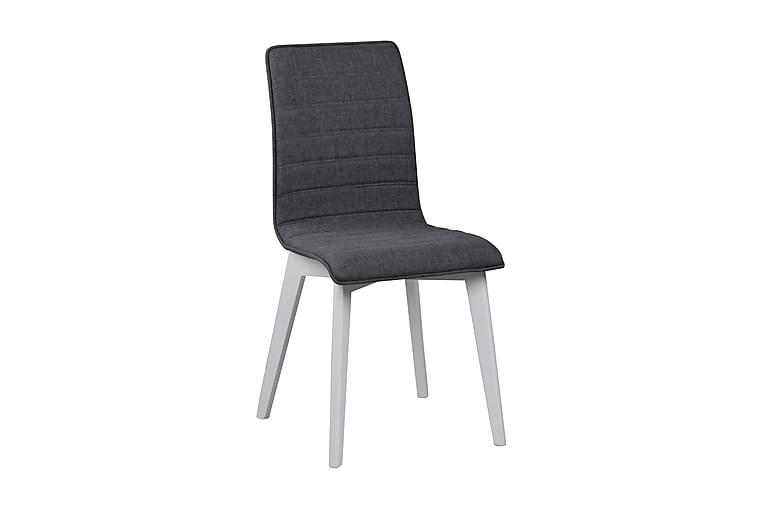 Veinge Køkkenstol med Hylde - Mørkegrå/Hvid - Møbler - Stole - Spisebordsstole & køkkenstole