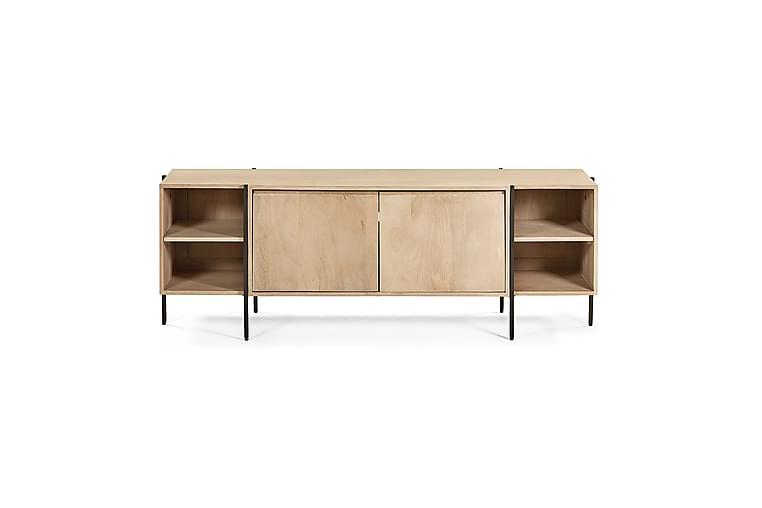 Apalmia Tv-Bord 160x40 cm - Mangotræ/Jern - Møbler - TV-Borde & Mediemøbler - TV-borde