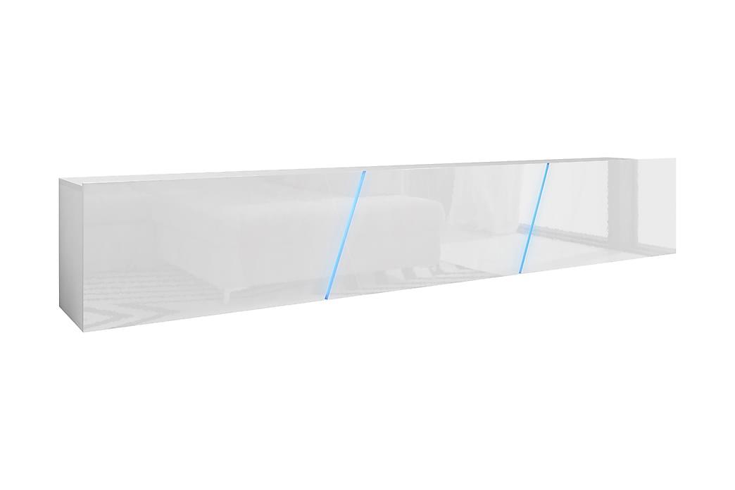 Glanser Tv-bænk 240 cm - Hvid - Møbler - TV-Borde & Mediemøbler - TV-borde
