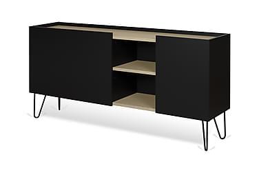 Jeanjo TV-bord 180 cm Sort/Træ