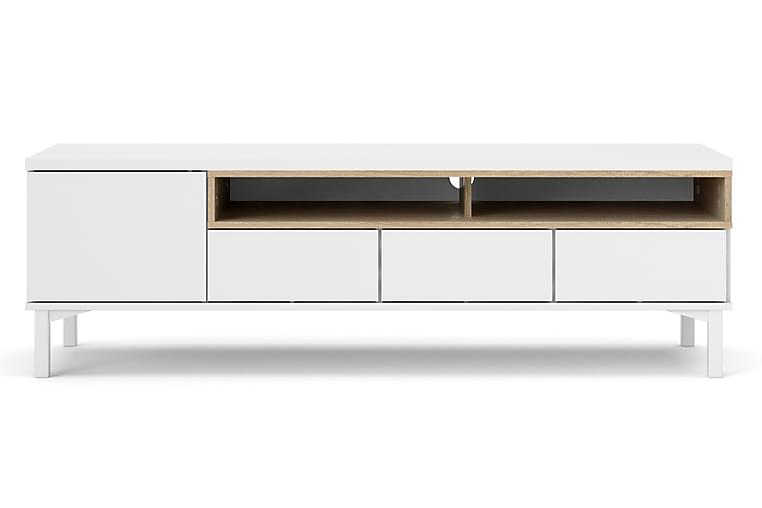 Roomers TV-Bord - Hvid/Eg - Møbler - TV-Borde & Mediemøbler - TV-borde