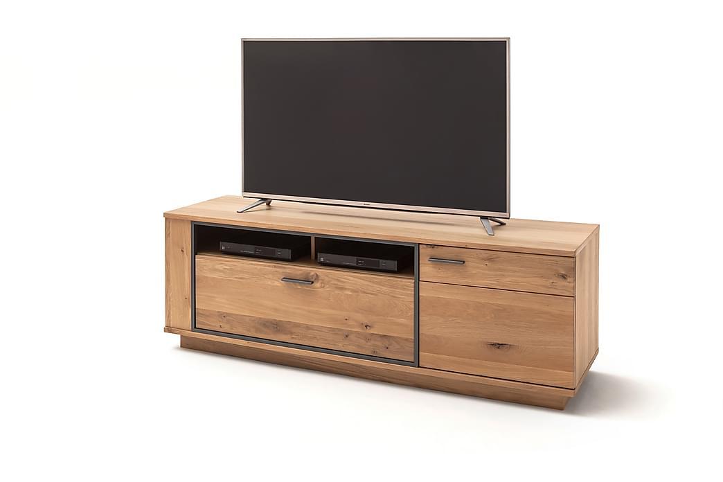 Rusley TV-Bord 180 cm - Eg / Antracit - Møbler - TV-Borde & Mediemøbler - TV-borde
