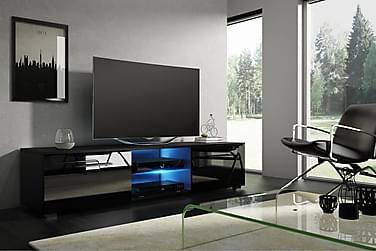Storsjö TV-bord 140 cm med LED-belysning