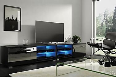 Storsjö TV-bord 200 cm med LED-belysning