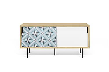 Wendan TV-bord 135 cm Flerfarvet