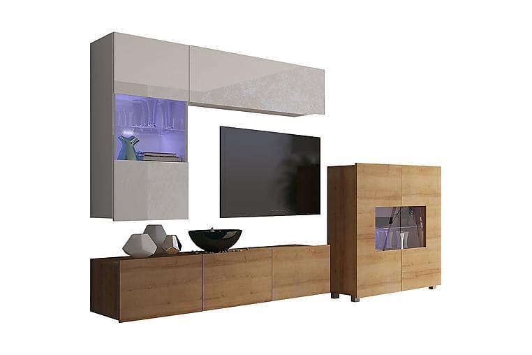 Calabrini tv-møbelsæt - Møbler - TV-Borde & Mediemøbler - Tv-møbelsæt