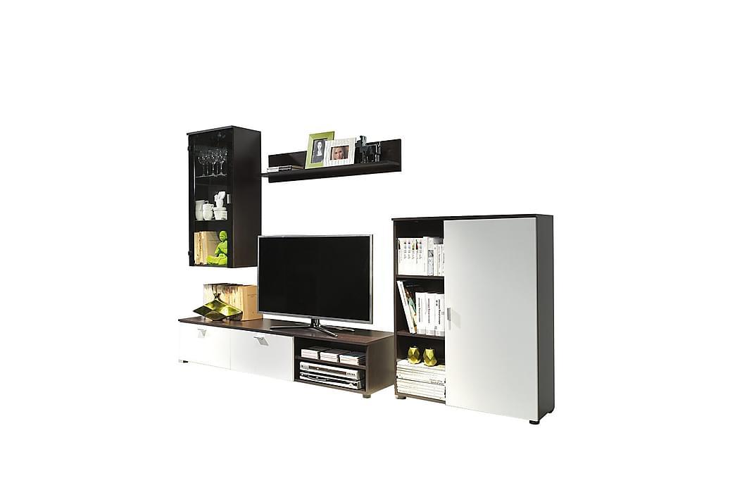 Dino TV-møbelsæt - Hvid - Møbler - TV-Borde & Mediemøbler - Tv-møbelsæt