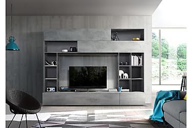 Priscilla TV-møbelsæt 276 cm
