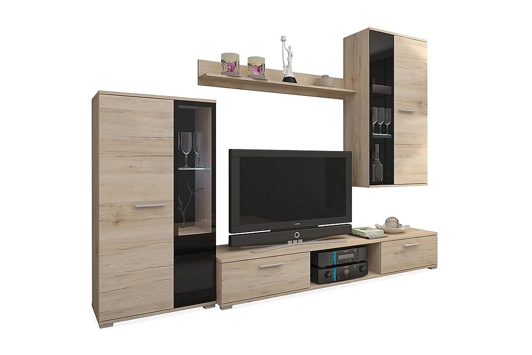 Salsa TV-møbelsæt - Beige - Møbler - TV-Borde & Mediemøbler - Tv-møbelsæt