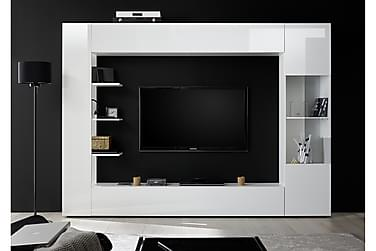 Sorano Vægkombinationination Modern Hvid