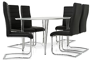 Køb Ovalt spisebordssæt billigt online - Trademax