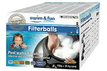 Filterkugler Multifase 700gr Swim & Fun