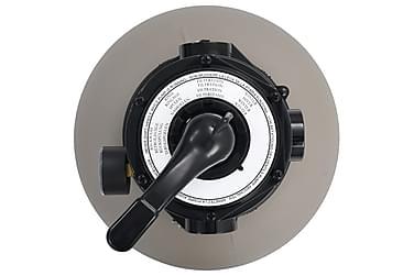 filter Til Pool Multiventil m 4 Indstillinger 350 Mm