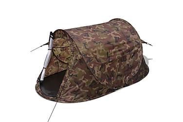 2-Personers Pop-Up-Telt Kamouflage